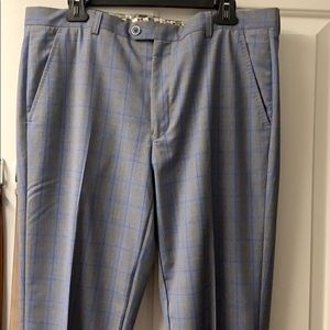 Ted Baker Blue and Gray Dress Pants.